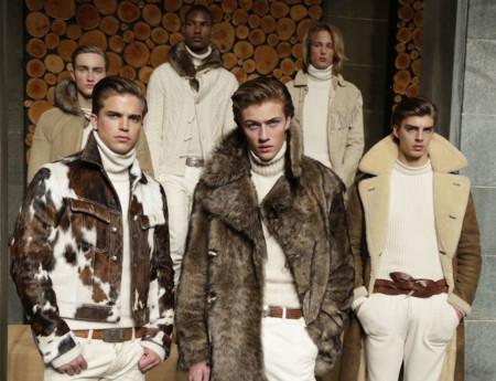 Elegancia y riesgo a partes iguales en la nueva colección de Ralph Lauren Purple Label para el próximo otoño