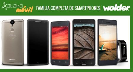Así queda el catálogo de smartphones Wolder tras la llegada del nuevo Wolder WIAM #65
