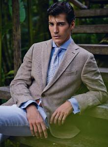 Los trajes de Scapa para la primavera-verano 2013: variedad colorida con Oriol Elcacho