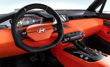 Hyundai Intrado Concept interior