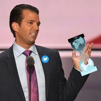 El hijo de Donald Trump y WikiLeaks intercambiaron mensajes durante la campaña electoral