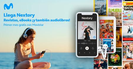 Nextory llega a Movistar para sustituir a Nubico con descuentos y un mes de prueba gratis