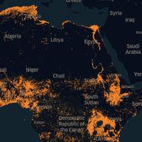 Toda la población de África, identificada correctamente al fin en un solo mapa