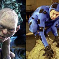 31 personajes de película antes y después de los efectos digitales