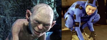 24 personajes de película antes y después de los efectos digitales