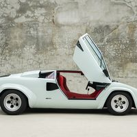 Uno de los más raros ejemplares del Lamborghini Countach saldrá a subasta