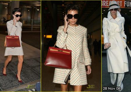 Los looks de Victoria Beckham en Londres