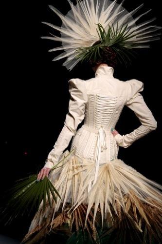 Jean Paul Gaultier Alta Costura Primavera-Verano 2010. Arte