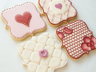 Hemos encontrado unas galletas tan bonitas que hasta Triki tendría dudas para comérselas