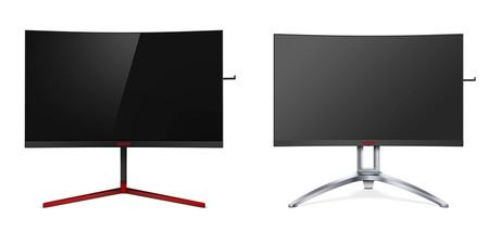 AOC renueva su catálogo de monitores gaming con dos nuevos modelos curvos y resolución QHD