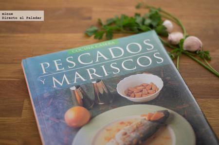 Pescados y mariscos, cocina casera. Libro de recetas