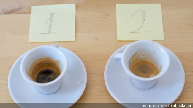 Marcilla vs Nespresso - fuertes después