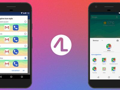Action Launcher avanza en su plan de convertirse Pixel Launcher con esteroides, añade iconos adaptativos