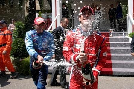 Bruno Senna gana en Mónaco