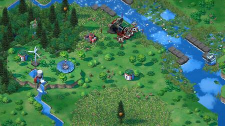 Así es Terra Nil, un precioso videojuego ecologista de construcción de ciudades a la inversa