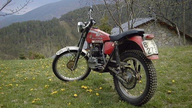 Bultaco Sherpa 74 de 1977