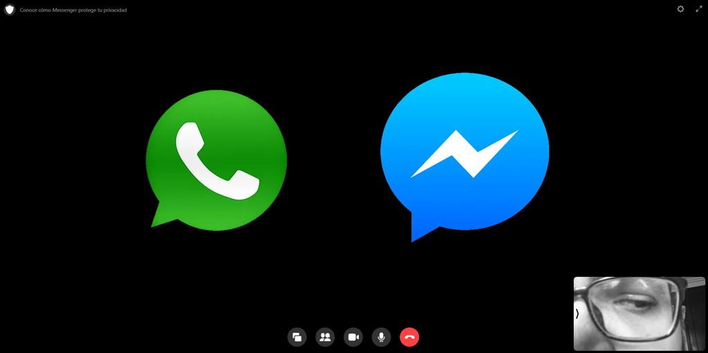 Así puedes hacer videollamadas grupales masivas con WhatsApp Web utilizando Messenger Rooms