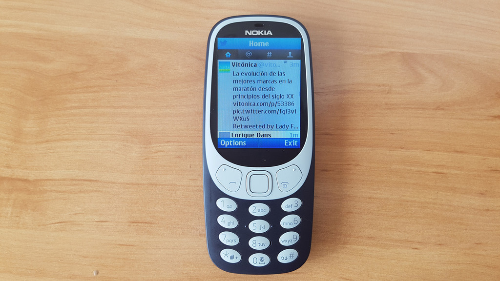 Twitter Nokia® 3310