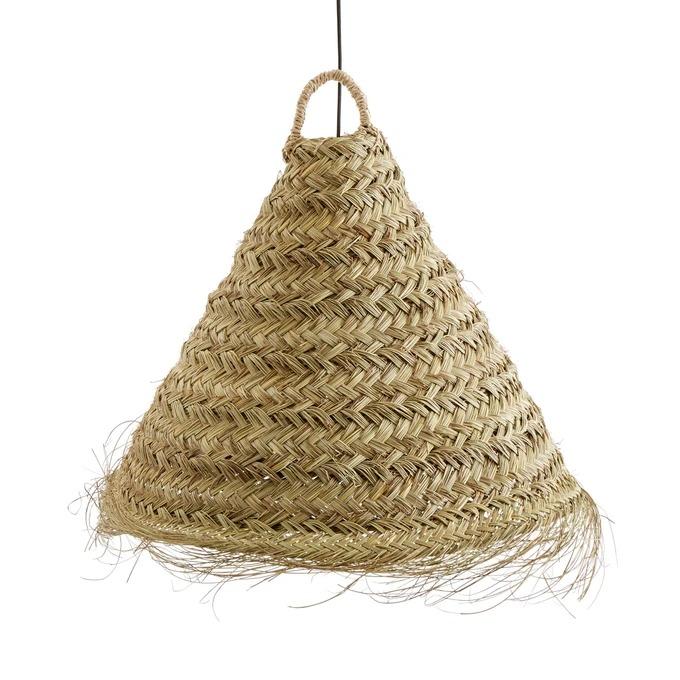 Lámpara de techo de hoja de palmera WESOKO