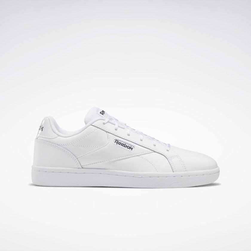 Zapatillas blancas de estilo clásico