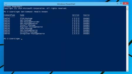Windows 10 tendrá un gestor de paquetes al estilo Linux