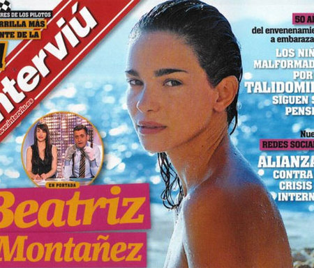 Beatriz Montañez desnuda en Interviú