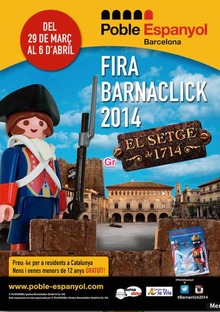 """""""BarnaClick"""": feria de coleccionistas de clicks, y centro de ocio familiar. Desde el 29 de marzo en Barcelona"""