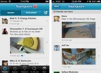 Foursquare actualiza su aplicación para iPhone con fotos en línea