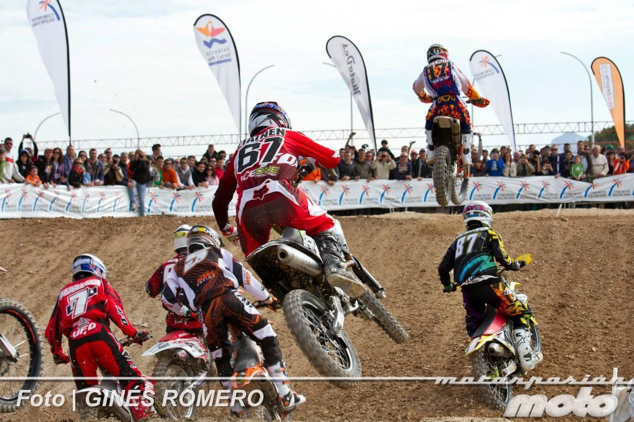 Foto de Álvaro Lozano empieza venciendo en el Campeonato de España de MX Élite 2012 (12/38)