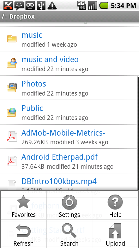Foto de Dropbox en Android (5/6)