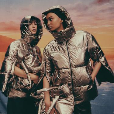 La nueva colección de plumones de Zara se ha creado con poliéster reciclado (y el resultado es impecable)