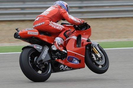 MotoGP Aragón 2010: Casey Stoner gana la carrera y se marchará por la puerta grande de Ducati