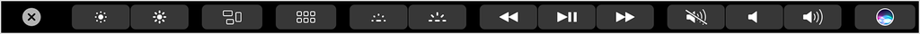 Touch Bar Sistema