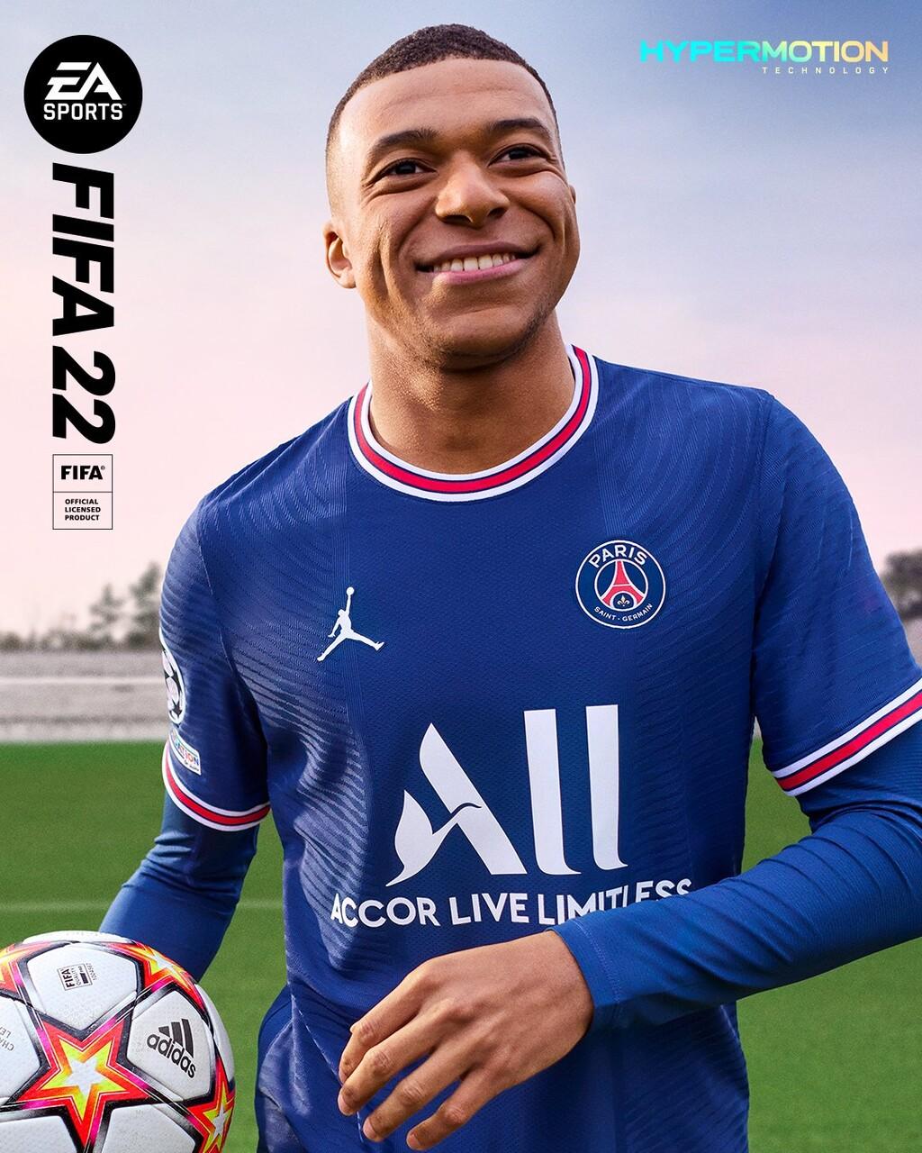 FIFA 22: Kylian Mbappé repite como la estrella principal de las portadas del juego de EA Sports