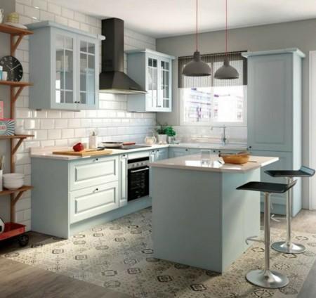 La cocina de tus sue os 5 propuestas que te ilusionar n - Vinilos suelo cocina ...