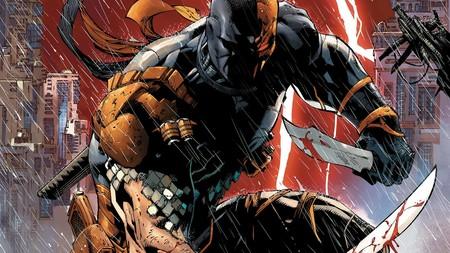 Deathstroke se quita el casco en esta nueva imagen oficial compartida por Joe Manganiello