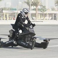 Si tienes 130.000 euros ya puedes comprar la moto voladora que usa la Policía de Dubái