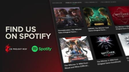 CD Projekt Red ha creado en Spotify ocho playlists