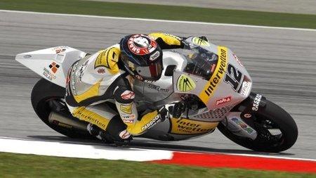 MotoGP Malasia 2011: una bandera roja evita el título de Stefan Bradl en la victoria de Thomas Lüthi
