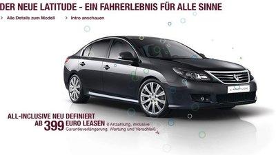 El Renault Latitude no se vende en Alemania