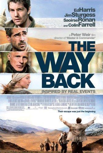 'Camino a la libertad' ('The Way Back'), cartel