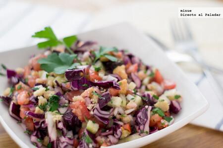 Ensalada fatuch, la receta libanesa más refrescante