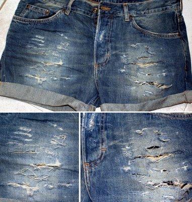 pantalon desgastado