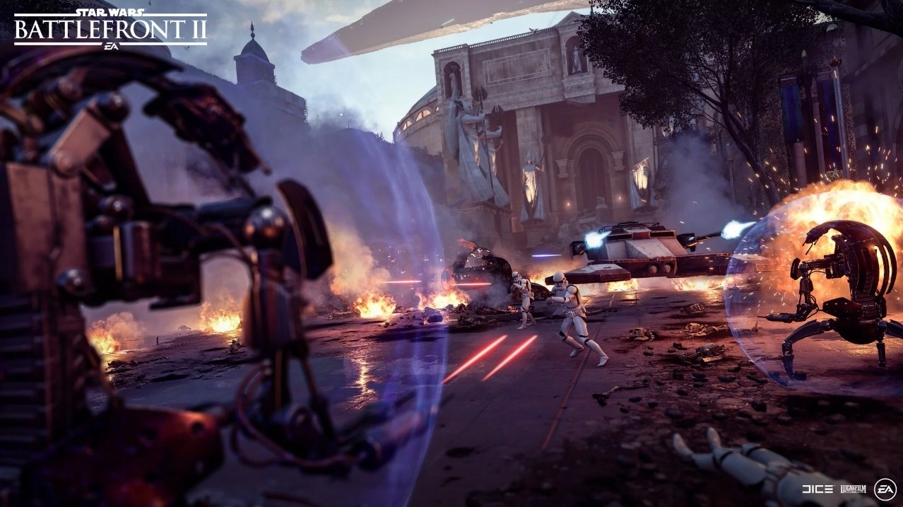 Star Wars: Battlefront II continuará ampliando su contenido con un nuevo mapa, un modo PvE cooperativo y...