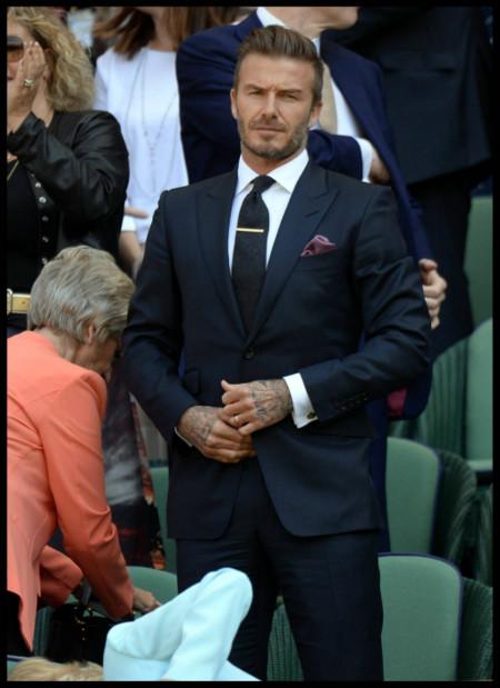 Wimbledon estuvo lleno de famosos bien vestidos... salvo Lewis Hamilton claro