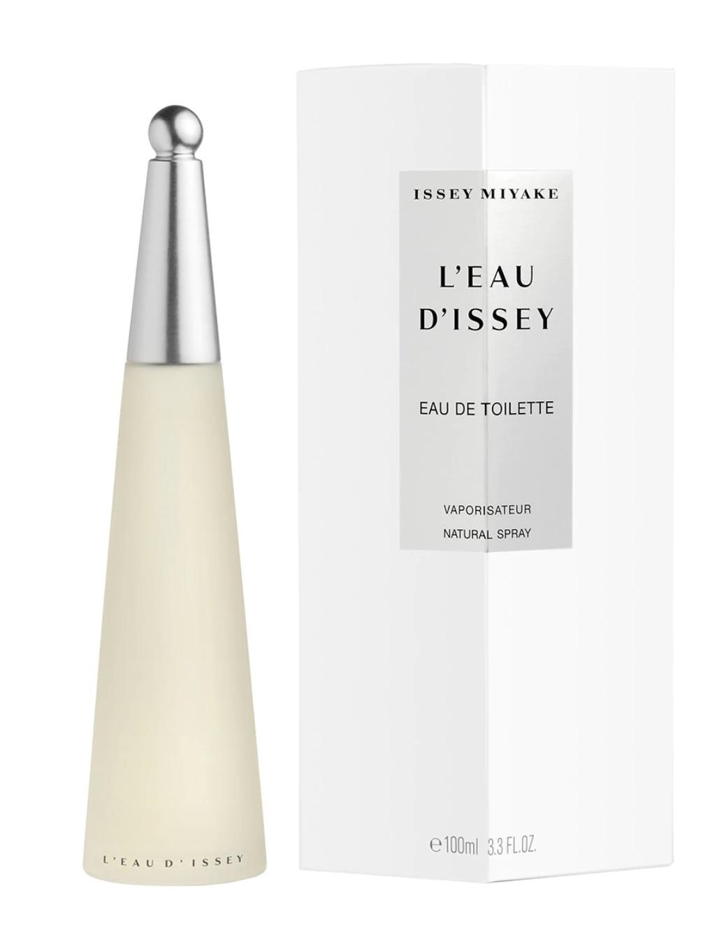 Eau de Toilette L'Eau d'Issey en envase de 100 ml de Issey Miyake.