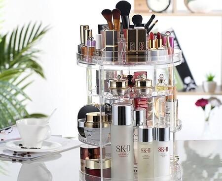 Los organizadores de maquillaje más vendidos de Amazon para tener tus productos de belleza organizados y a la vista