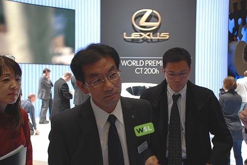 Foto de Embelezzia en la presentación mundial del Lexus CT 200h (3/24)