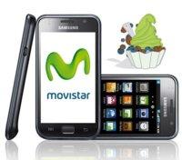 La actualización Android 2.2 Froyo llega a los Samsung Galaxy S de Movistar
