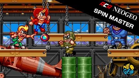 Spin Master será el próximo clásico de NeoGeo en sumarse al catálogo de Nintendo Switch